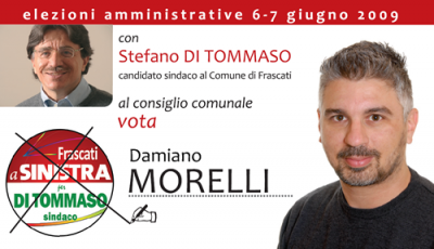 Il 6 e 7 Giugno vota MORELLI